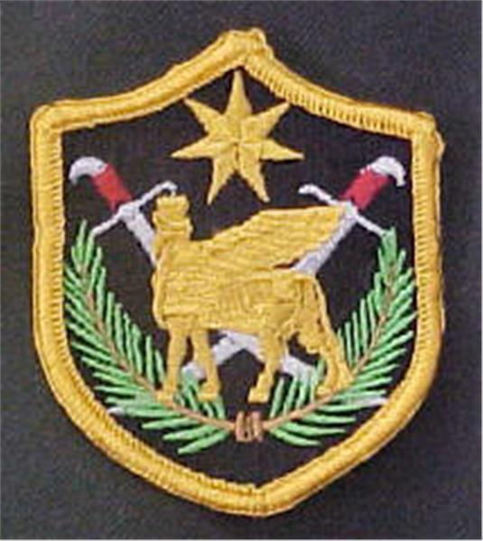 Multinational Force Iraq Dress-Full Color Patch