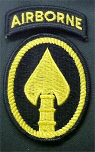 SOCOM (US Army Special Operations Cmd) Full Color Dress Patch with Tab