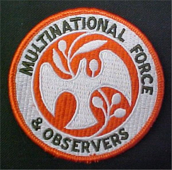Multinational Forces and Observers Dress Patch