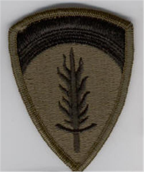 U.S. Army Europe Subdued Patch - Closeout Great for Shadow Box
