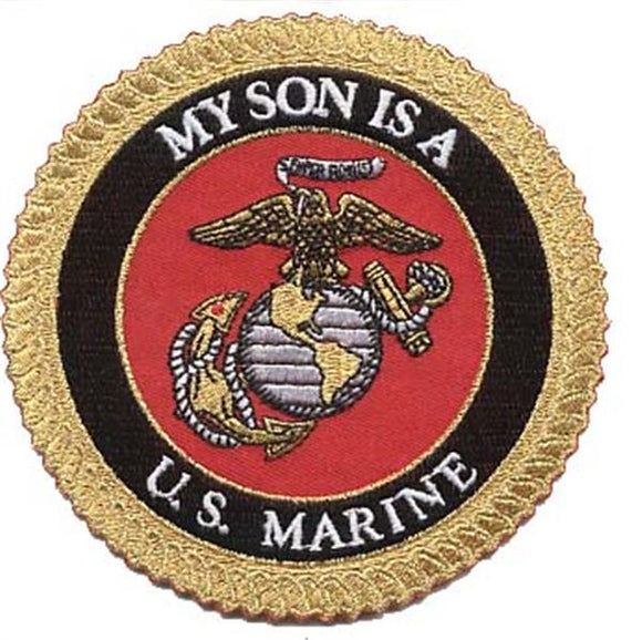 My Son is a U.S. Marine USMC Patch