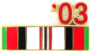 03 Afghanistan Ribbon Small Pin