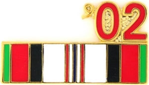02 Afghanistan Ribbon Small Pin