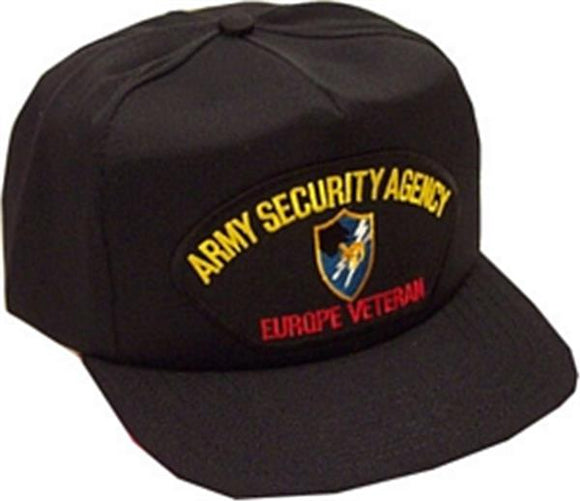 Army Security Agency Europe Veteran Ball Cap