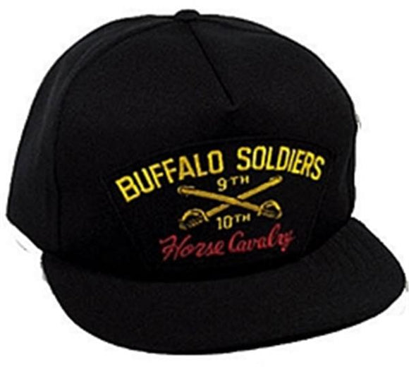 Buffalo Soldiers 9th and 10th Horse Cavalry Ball Cap