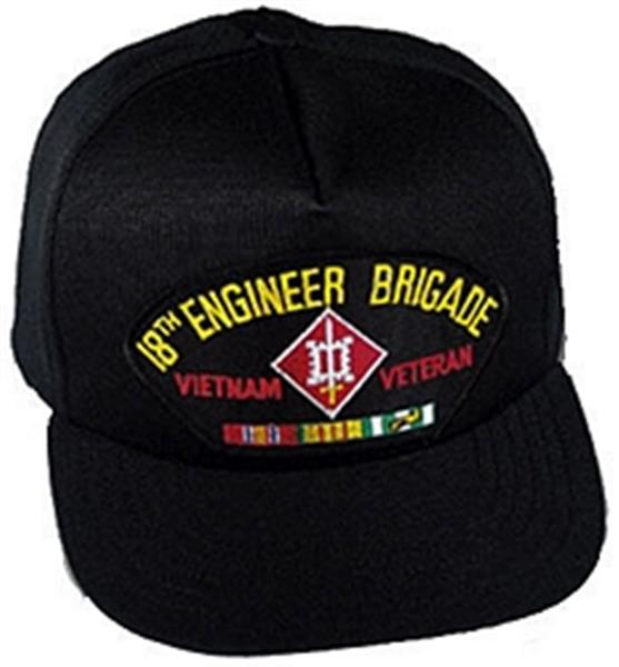 18th Engineer Brigade Vietnam Veteran Ball Cap