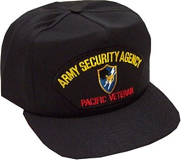 Army Security Agency Pacific Veteran Ball Cap