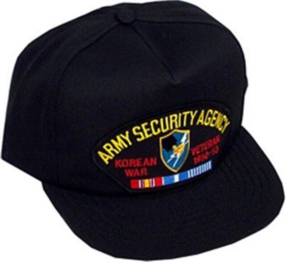Army Security Agency Korean Veteran Ball Cap