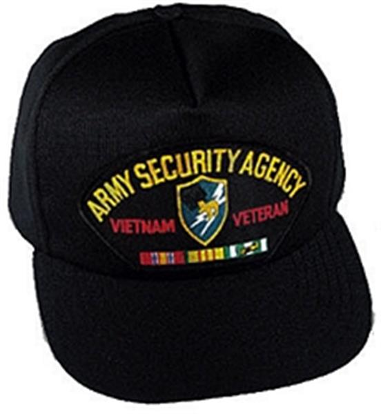 Army Security Agency Vietnam Veteran Ball Cap