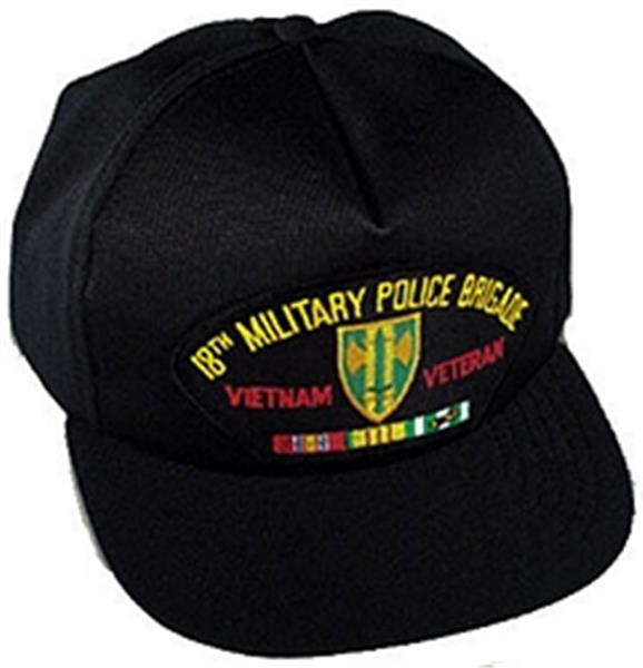 18th Military Police Brigade Vietnam Veteran Ball Cap