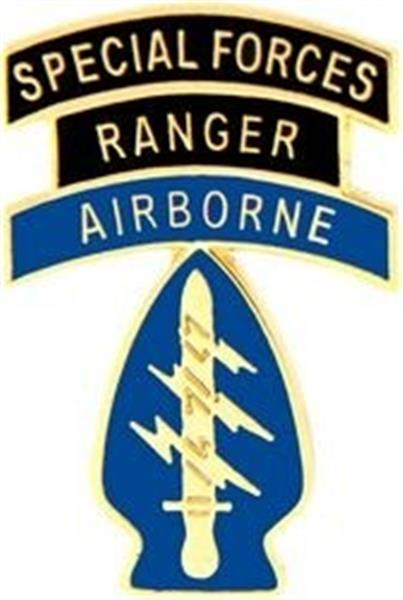 U.S. Army Special Forces AB Ranger Small Hat Pin