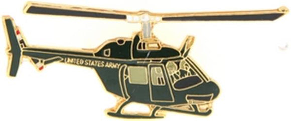 0H-58 Helicopter Small Pin