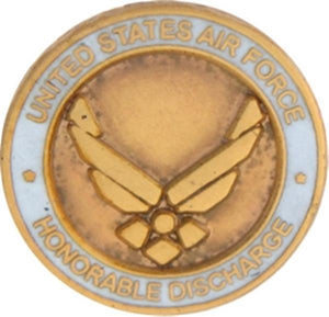 U.S. Air Force Honorable Discharge Small Pin