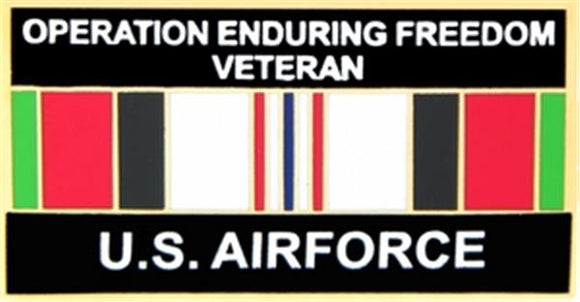 U.S. Air Force Operation Enduring Freedom Veteran Small Pin