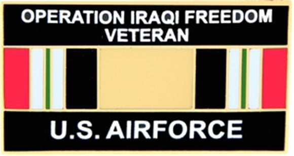 U.S. Air Force Operation Iraqi Freedom Veteran Small Pin