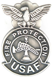 U.S. Air Force Fire Protection Small Pin