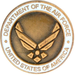 Department of the Air Force Small Pin