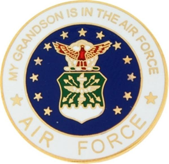 U.S. Air Force My Grandson Small Pin