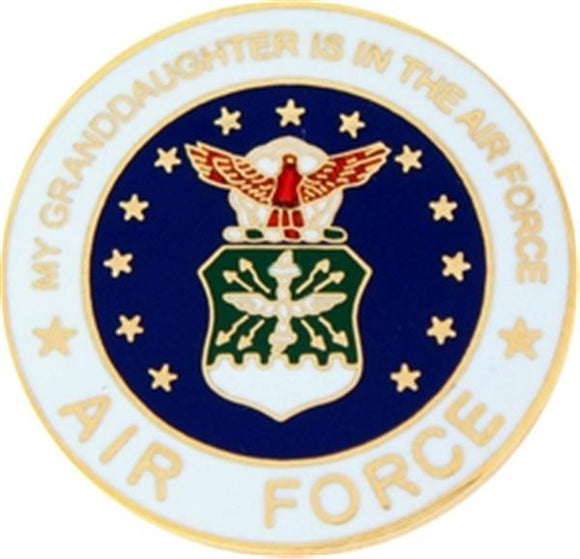 U.S. Air Force My Granddaughter Small Pin