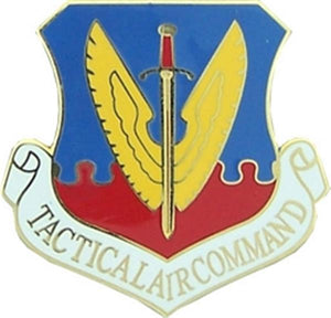 U.S. Air Force Tactical Air Command Large Pin