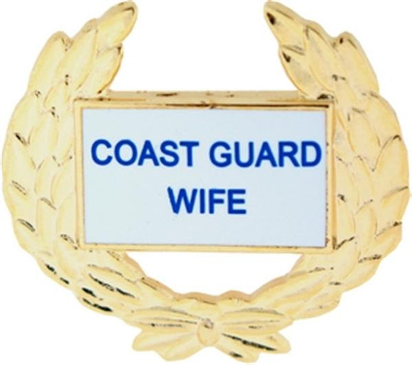 USCG Wife Small Pin