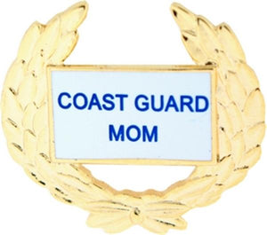 USCG Mom Small Pin