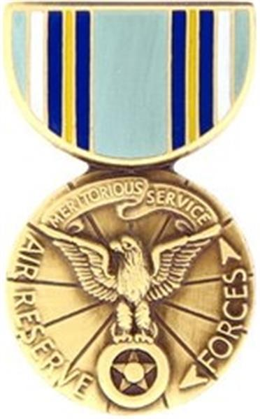 Air Force Reserve Meritorious Service Mini Medal Small Pin