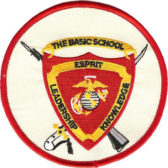 The Basic School USMC Patch
