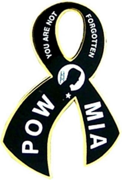 POW-MIA Ribbon Small Pin