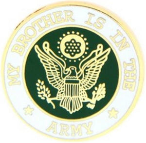 U.S. Army My Brother Small Hat Pin