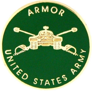 U.S. Army Armor Small Hat Pin