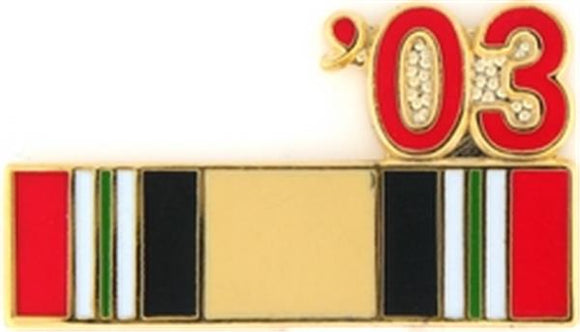 03 Iraq Ribbon Small Pin