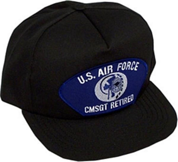 U.S. Air Force CMSGT Retired Ball Cap