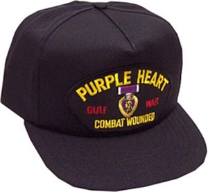 Gulf War Purple Heart Ball Cap