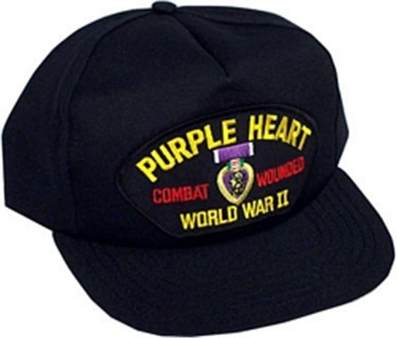 WWII Purple Heart Ball Cap