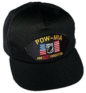"POW-MIA ""Are Not Forgotten"" Ball Cap"