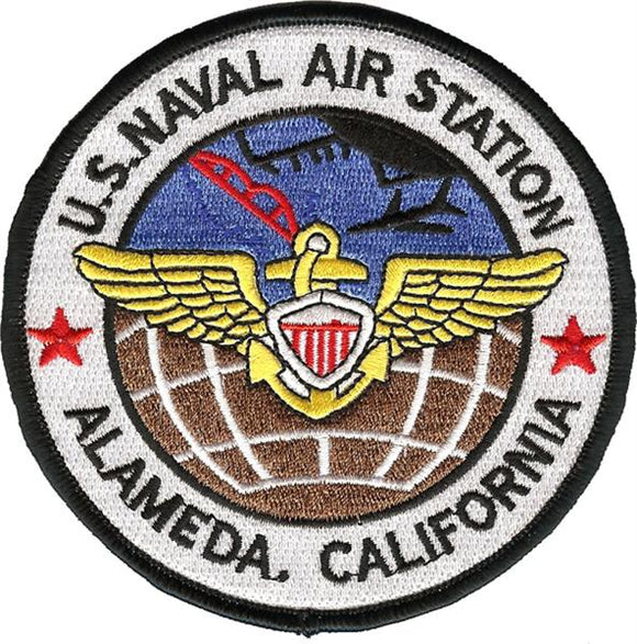 NAS-ALAMEDA California USMC Patch