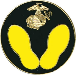 USMC 1ST STEPS Small Hat Pin