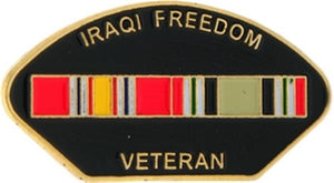 Iraqi Freedom Veteran Small Pin