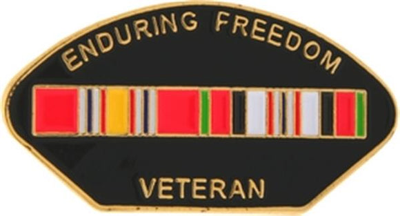 Enduring Freedom Veteran Small Pin