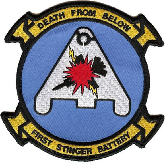 First Stinger Battery USMC Patch