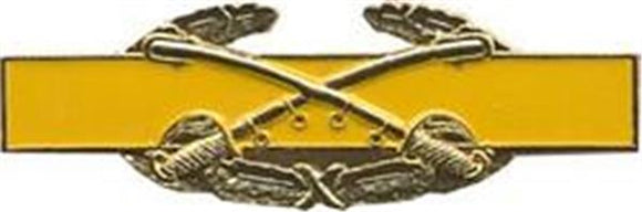 Combat Cavalry Regulation Size Pin