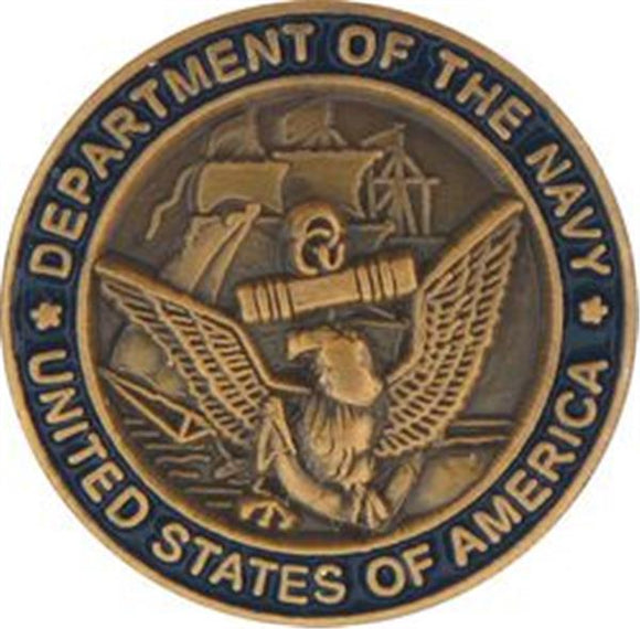 Department of the USN Small Pin