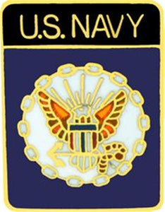 US Navy Small Pin Size 3-4""
