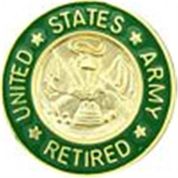 USA Retired Small Hat Pin 5-8