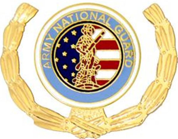National Guard Small Hat Pin 1 1-8