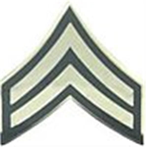 E-4 CPL Small Hat Pin 3-4""