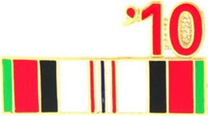 10 Afghanistan Ribbon Small Pin