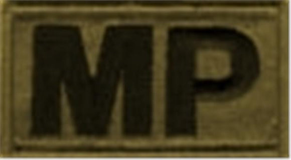 MP (Military Police) Brassard MultiCam  OCP Patch