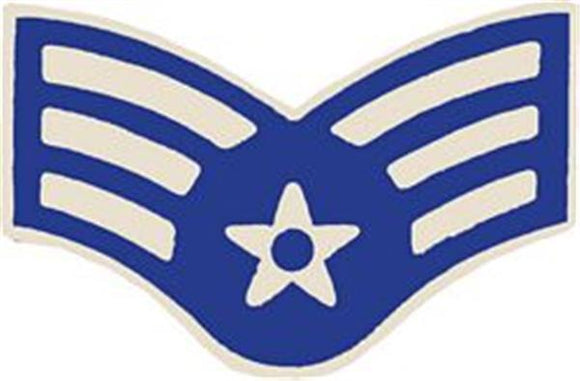 U.S. Air Force E-4 Senior Airman Small Hat Pin